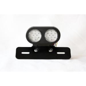汎用品 LED テールランプ 丸2灯型 technical-inc