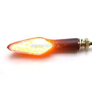 LED バイク ウインカー 2個セット汎用品 077A technical-inc