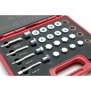 車のオイルドレン 修理 リペアキット 64pc K3141|technical-inc