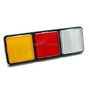 汎用 LED 3連 テールランプ トラック/トレーラー 1個(片側) 12〜24v対応|technical-inc