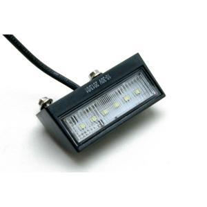 汎用 LED ナンバー灯 トラック/トレーラー1個 12〜24v対応|technical-inc