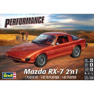 アメリカレベル 1/24 1/24 マツダ RX-7 2'n1 プラモデル 4429|techno-hobby-center