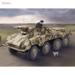 サイバーホビー 1/35 WW.II ドイツ軍 Sd.Kfz.234/3 シュツンメル 7.5cm砲搭載 8輪重装甲偵察車 プラモデル CH6786|techno-hobby-center