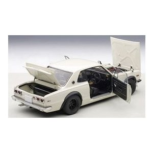 オートアート 1/18 日産 スカイライン GT-R (KPGC10) チューンド・バージョン (ホワイト) 77442|techno-hobby-center