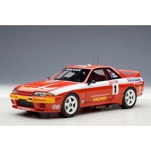 オートアート 1/18 日産 スカイライン (R32) GT-R ATCC 1992年 バサースト 1000kmレース 優勝 #1 techno-hobby-center