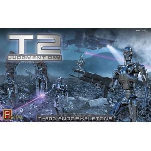 ペガサスホビー 1/32 ターミネーター2 T-800 エンドスケルトン(5体セット) プラモデル PH9017|techno-hobby-center