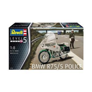 ドイツレベル 1/8 BMW R75/5 ポリス プラモデル 07940|techno-hobby-center