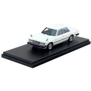 ハイストーリー 1/43 トヨタ クレスタ スーパールーセント (1981) ホワイト ミニカー HS119WH|techno-hobby-center