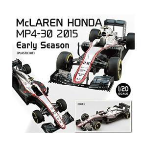 エブロ 1/20 マクラーレン ホンダ(McLAREN HONDA) MP4-30 2015 Early Season プラモデル 20013|techno-hobby-center