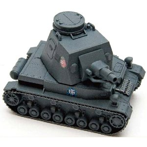 ガールズ&パンツァー ドイツ IV号戦車D型 30001 エブロ ebbro プラモデル|techno-hobby-center