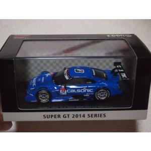 1/43 CALSONIC IMPUL GT-R SUPER GT500 2014 Rd.2 Fuji Winner No.12 45101 エブロ  ebbro|techno-hobby-center