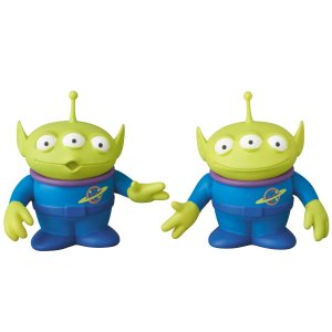 UDF(ウルトラディテールフィギュア) Pixar エイリアン (2体セット) メディコム・トイ techno-hobby-center