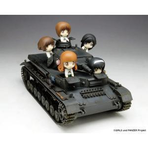 プラッツ 1/35 ガールズ&パンツァー IV号戦車D型 あんこうチーム プチあんこうチーム付き限定版です! プラモデル GP-14 techno-hobby-center