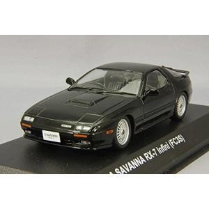 京商 1/ 43 マツダ サバンナ RX-7(FC3S)アンフィニ(ブラック)(KS03303BK)ミニカー|techno-hobby-center