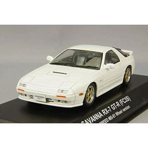 京商 1/ 43 マツダ サバンナ RX-7(FC3S)GT-R マツダ スピードホイール(ホワイト)(KS03302W)ミニカー|techno-hobby-center
