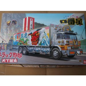 アオシマ 1/32 トラック野郎 No.05 一番星 天下御免 プラモデル|techno-hobby-center