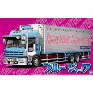 アオシマ 1/32 ブルージャック (大型冷凍車) バリューデコトラ No.15|techno-hobby-center