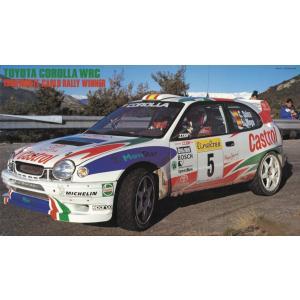 1/24 トヨタ カローラWRC 1998 モンテカルロ ラリー ウィナー プラモデル 20266 ハセガワ|techno-hobby-center