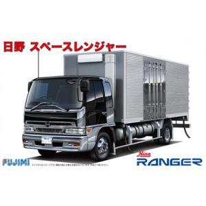 フジミ 1/32 HT10 日野 スペースレンジャー  はたらくトラックシリーズ No.10|techno-hobby-center