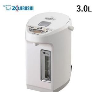 象印 3.0L 電気ポット マイコン沸とう VE電気まほうびん 優湯生 CV-WB30-WA ホワイ...
