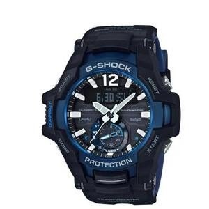 カシオ ソーラー腕時計 ブラック・ブルー GR-B100-1A2JF [GRB1001A2JF] お...
