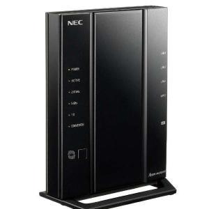 NEC PA-WG2600HP3 11ac対応 1733+800Mbps 無線LANルータ(親機単体...