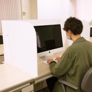 飛沫防止 パーテーション 卓上パネル デスク 【コの字型 / L字型】|technosp