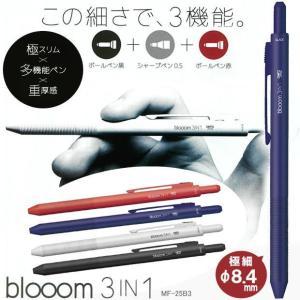 細軸多機能ペン ブルーム 3in1 手帳に最適 ビジネス使いに人気の筆記用具|techouichiba