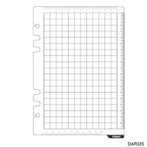 システム手帳 リフィル A5 下敷&スケール|techouichiba