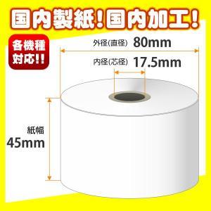 上質紙レジロール 45×80×17.5 小箱(30巻入)|tecline