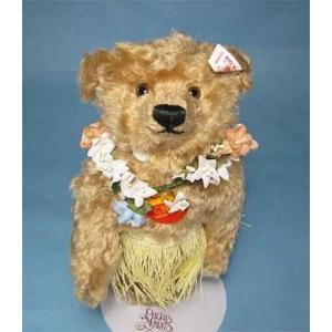 アウトレット!テディベア シュタイフ ハワイアン ベア Steiff Teddybear Hawaiian Bear くまのぬいぐるみ|teddy