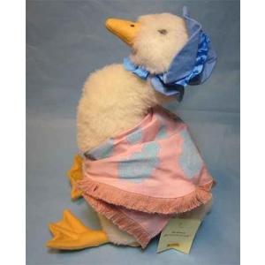 SALE!!シュタイフ  ジマイマ パドルダック あひるのぬいぐるみ Steiff Beatrix Potter Jemima Puddleduck|teddy