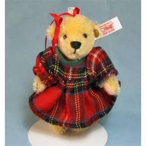 テディベア シュタイフ マフィー オーナメント  Steiff Teddybear Muffy Ornament|teddy