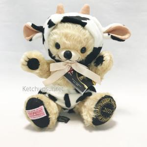 テディベア メリーソート チーキー 日本限定 2021年 干支シリーズ 丑 チーキーカウ 2021 Merrythought Cheeky Cow 2021|teddy