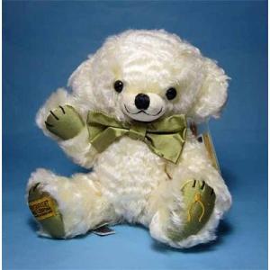 テディベア メリーソート チーキー ピュアシルク イエロー くまのぬいぐるみ|teddy