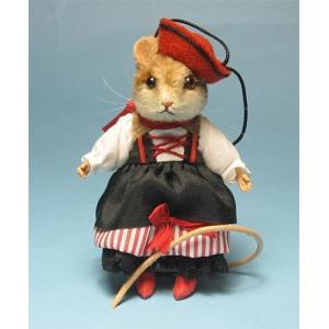 R・ジョンライト カンタディーナ マウス R.JohnWright Doll Contadina Mouse【B】|teddy