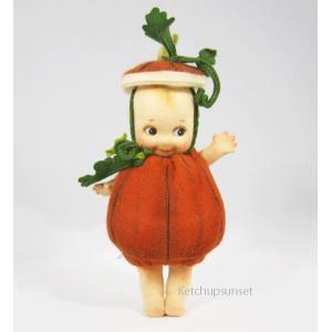R・ジョンライト ドール キューピー パンプキン  R.John Wright Doll Kewpie Pumpkin|teddy