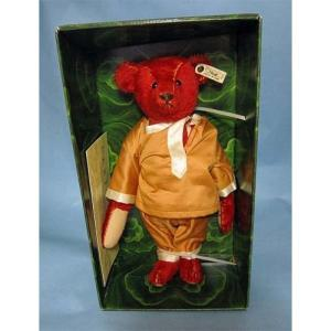 SALE!!テディベア シュタイフ 1991年 イギリス限定  アルフォンゾ テディベア Alfonzo Teddy Bear|teddy