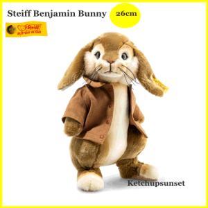 シュタイフ(steiff) ピーターラビットより ソフトタイプ ベンジャミンバニー Steiff Benjamin Bunny テディベア ぬいぐるみ teddy