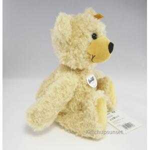 Steiffシュタイフ テディベア チャーリー ベージュ 30cm ぬいぐるみ ふわふわ Steiff Charly dangling Teddy Bear 30cm|teddy|04
