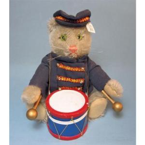 SALE!! テディベア シュタイフ 1988-1989年 アメリカ Golden Age限定 Cat Bandman|teddy