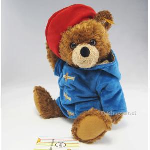テディベア  シュタイフ パディントンベア  ソフトタイプ 28cm  Steiff Paddington Bear|teddy