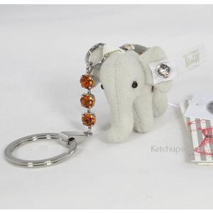 Steiffシュタイフ リトルエレファントペンダント キーリング Steiff  Little Elephant Pendant ゾウのキーリング|teddy|02