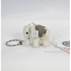Steiffシュタイフ リトルエレファントペンダント キーリング Steiff  Little Elephant Pendant ゾウのキーリング|teddy|03