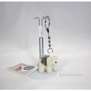 Steiffシュタイフ リトルエレファントペンダント キーリング Steiff  Little Elephant Pendant ゾウのキーリング|teddy|06