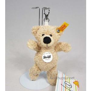 シュタイフ テディーベア フィン キーリング ベージュ 12cm Steiff Fynn Keyring Beije teddy