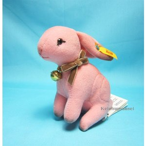 テディベア シュタイフ ヘーゼル ラビット ピンク Steiff Hazel Rabbit Pink|teddy