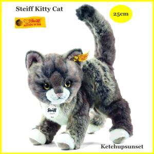 シュタイフ ねこのキティー  Steiff Kitty Cat|teddy