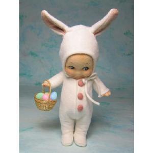 R・ジョンライト ドール キューピー バニー R.JohnWright Doll Kewpie Bunny|teddy