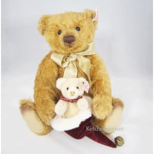 テディベア  クリス&クリスタ クリスマスベア Steiff Teddybear Kris&Krista, Chirstmas bear くまのぬいぐるみ|teddy